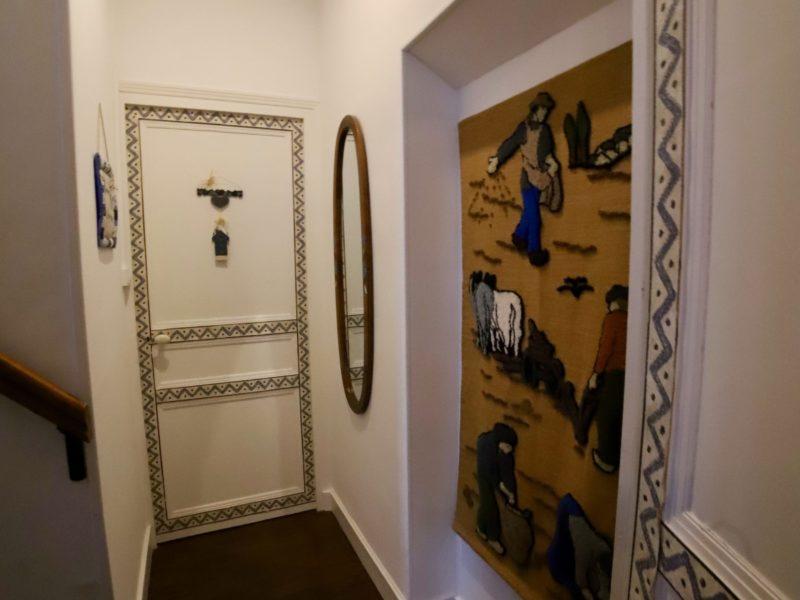 Entrée de la chambre Meunière du bas Moulin des morvans - 58430 Fâchin